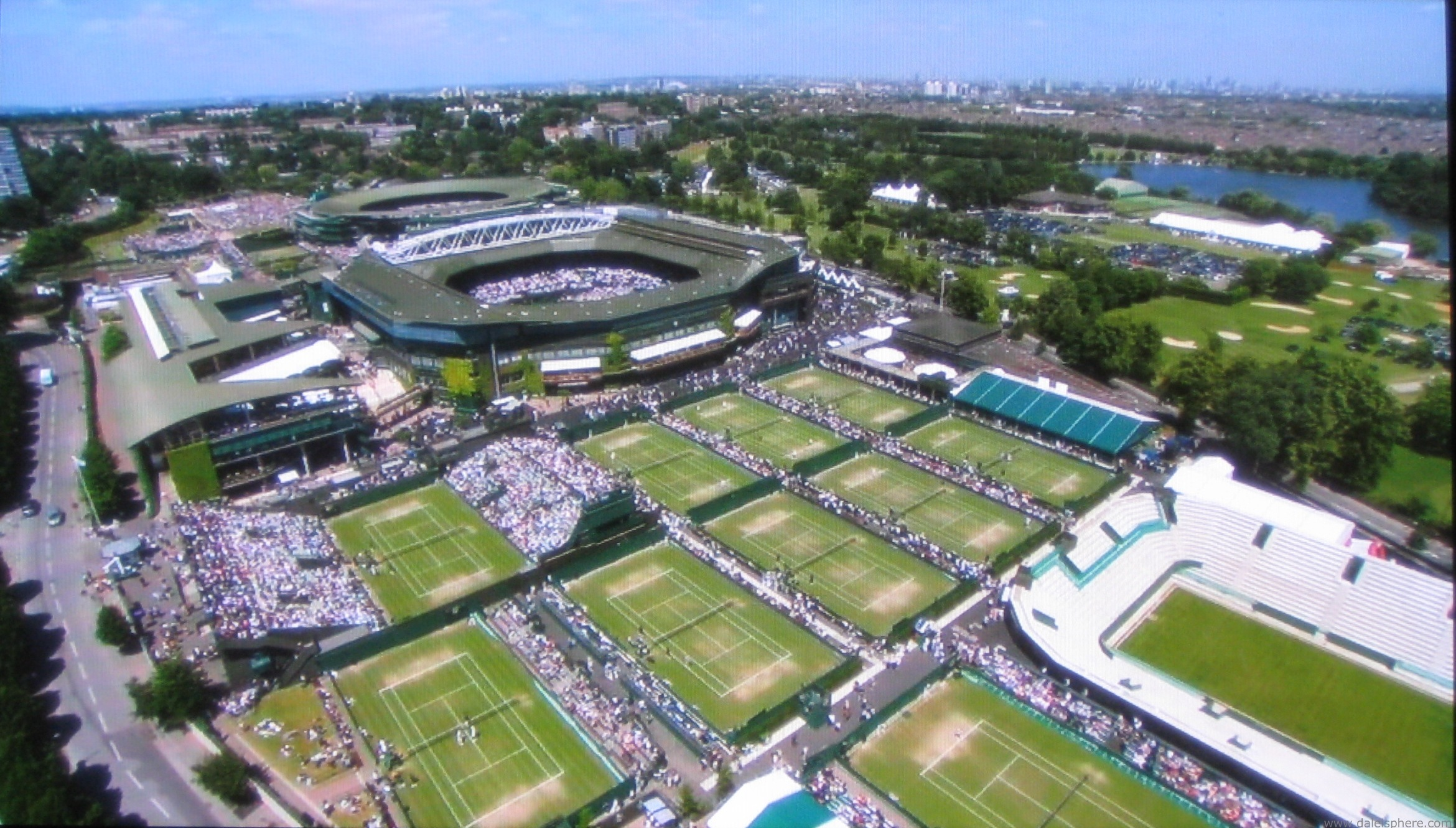 All England Lawn Tennis and Croquet Club Wimbledon Londres London Olimpiadas Olympics 2012