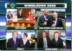 2008 Wimbldeon - ESPN 2 Commentors