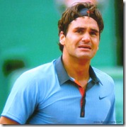 2009 french open - federer's emotions pour out just after he wins tournament