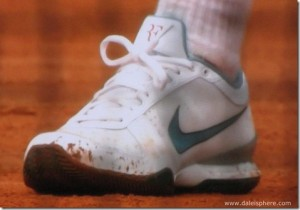Roger Federer's Designer Tennis Shoes – French Open 2009