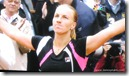 2009 french open - svetlana kuznetsova celebrates her french open victory