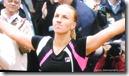 2009 french open - svetlana kuznetsova celebrates her french open victory