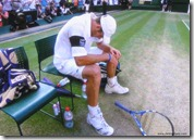 andy roddick - sad in defeat 2 - wimbledon 2009