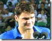 australian open 2009 -  feder in tears during runner-up acceptance speach