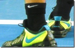 australian open 2009 -  rafael nadal's tennis shoes-sneakers - second view