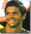 australian open 2009 -  verdasco smiles after nadal hits a winner