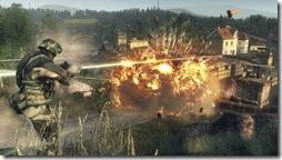 Battlefield - Bad Company - 360 - tank blowing up