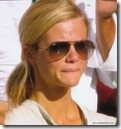 brooklyn decker 10 - saddened at andy roddick's defeat - wimbledon 2009