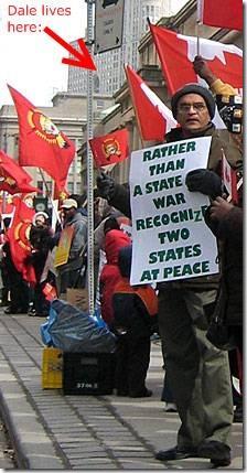 Tamil Protest in Toronto