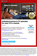 netflix canada 1 month free trial