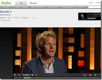 masterchef on hulu via hotspot shield