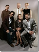 coen brothers and cast of burn after reading (2008)