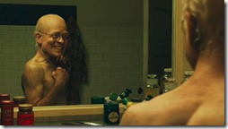 curious case of benjain button (2008) brad pitt looks in mirror as old young man