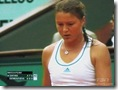 Dinara Safina at Match Point Against Dementieva at 2008 French Open