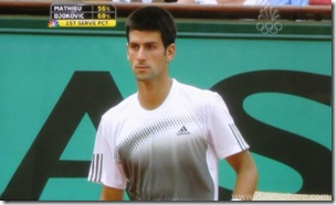 Djokovic eyes Mathieu at 2008 French Open