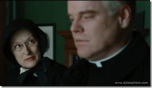doubt (2008) meryl streep confronts philp seymour hoffman