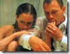 eva green and daniel craig - casino royale (2006) shower scene - figer sucking