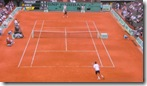 French Open 2008 - NBC HD - Federer - Ancic Martch