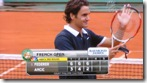 French Open 2008 - NBC HD - Federer