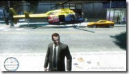 GTA IV - Helicopter Parked at Algonquin Safehouse