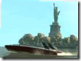 GTA IV - Nicko Drives Boat Past Statute of Liberty