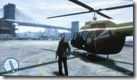 GTA IV - Nicko Posing in front of Helicopter & Broker Bridge