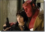 Hellboy 2 - Selma Blair and Ron Perlman