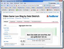 feedburner stats pro now free message