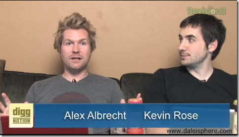 diggnation podcast - alex albrecht and kevin rose