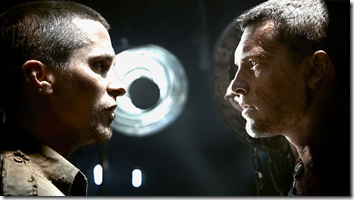 terminator salvation - christian bale and sam worthington