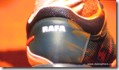 french open 2009 - nadal tennis shoes single back view