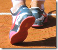 french open 2009 - nadal tennis shoes back view