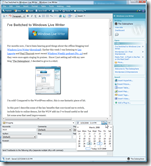 Windows Live Writer Editor