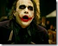 heath ledger as the joker in the black knight (2008)