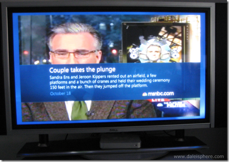 msnbc.com working in canada through media center on xbox 360 - for now