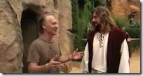 religulous - maher with actor jesus