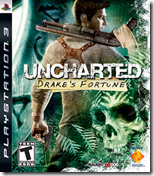 uncharted - drake's fortune - box art