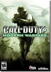 call of duty 4 - modern warfare box art