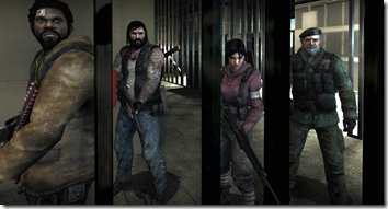 left 4 dead - team must survive the horde of zombies