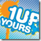 1Up Yours Podcast Logo