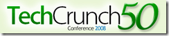 TechCrunch50 logo
