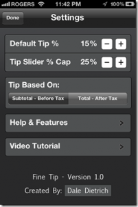 Fine Tip–Tip Calculator