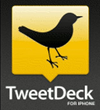 tweetdeck for iPhone app icon