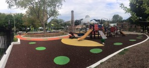 Playground at Alan Gardens