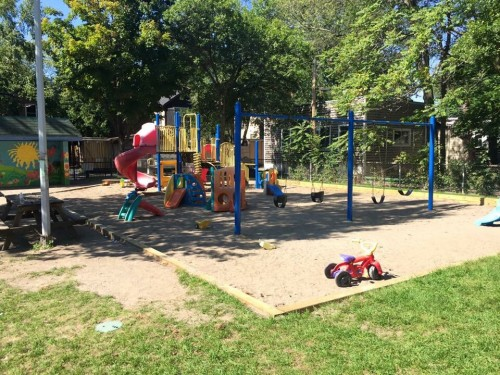 Playground at Hideaway Park