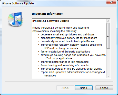 iphone firmware vs software