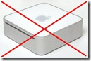 Mac Mini with Red X
