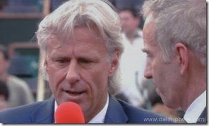 McEnroe interviews Borg after 2008 French Open Men's Final