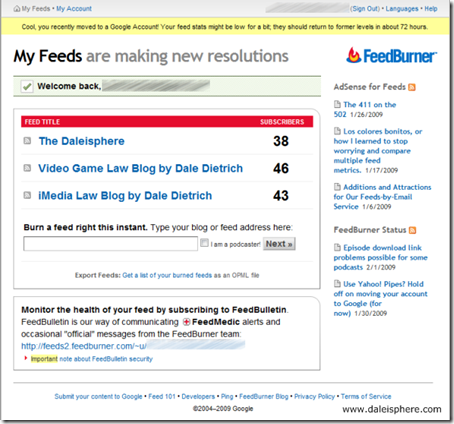 How to Migrate Feedburner Feeds to Google Adsense