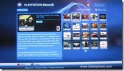 new playststation store - new releases menu